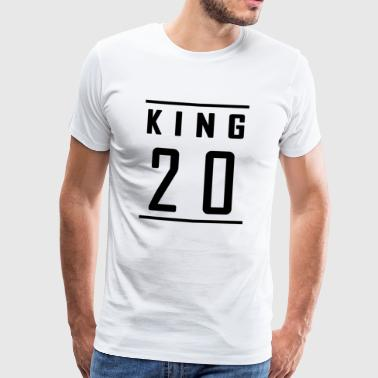 King König 2018 Design - Limited - Männer Premium T-Shirt