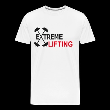 Weight Lift - Extreme Lifting - Men's Premium T-Shirt
