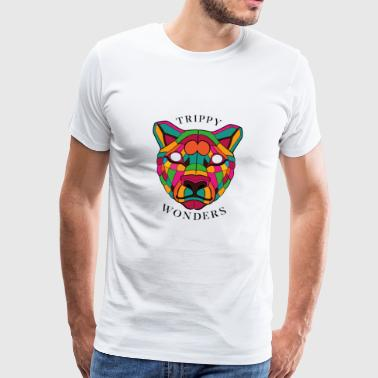 Trippy Wonders - Lion - Männer Premium T-Shirt