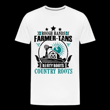 Farmer Dirty Boots - Men's Premium T-Shirt