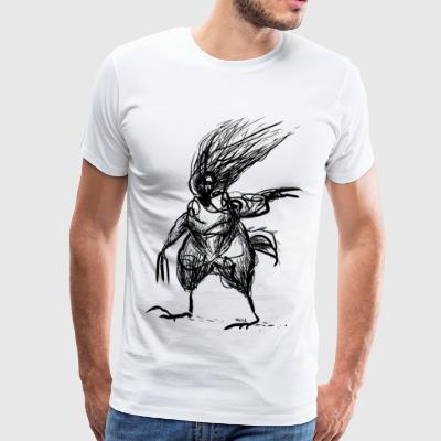 chicken man - Men's Premium T-Shirt