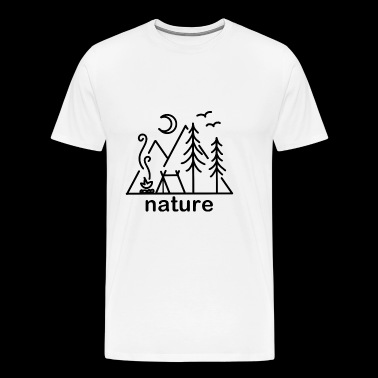 nature nature - Men's Premium T-Shirt
