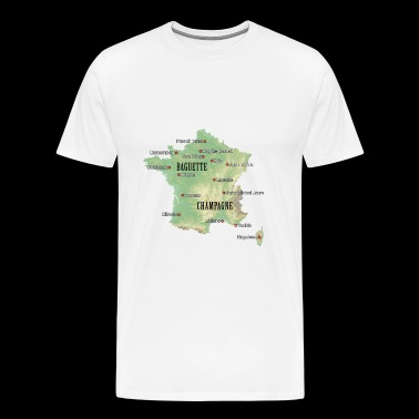 France Atlas - T-shirt Premium Homme