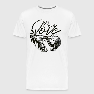 One Love (Dark Label) - Men's Premium T-Shirt