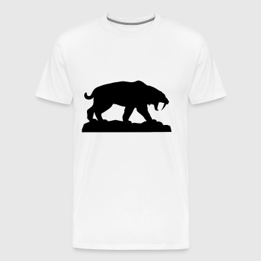 Saber tooth - Men's Premium T-Shirt