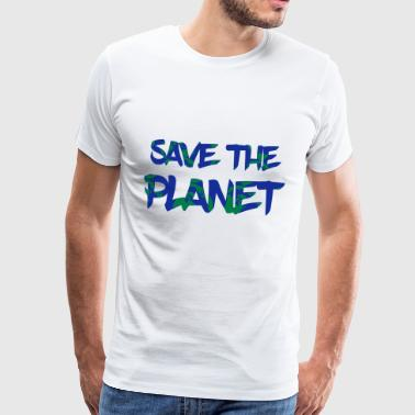 Save the Planet - Rette die Erde - Männer Premium T-Shirt