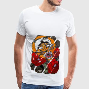 illumiphant. Tiger. - T-shirt Premium Homme