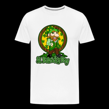 St Patrick's Day Ireland holiday gift surprise - Men's Premium T-Shirt