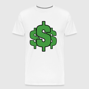 Cash Dollar Money - Men's Premium T-Shirt