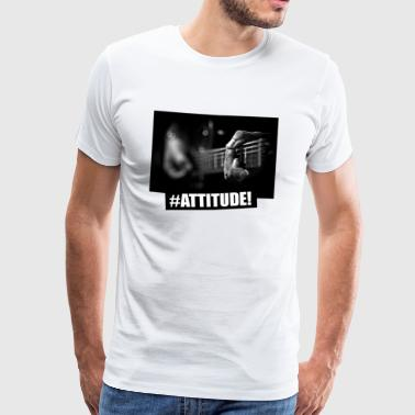**Limited Edition** Strings #Attitude - Männer Premium T-Shirt