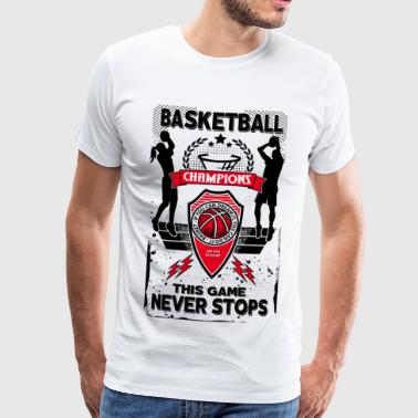 basket-ball - T-shirt Premium Homme