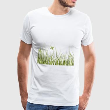 Green meadow - Men's Premium T-Shirt