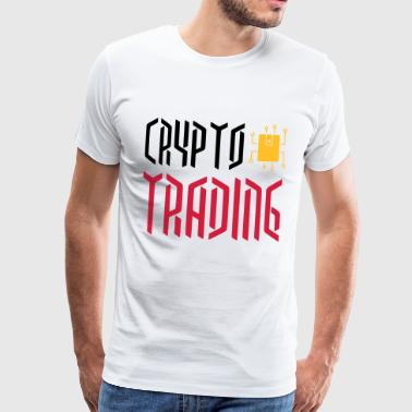 CRYPTOCURRENCIES / CRYPTOS / Krypto valuuttakaupan - Miesten premium t-paita