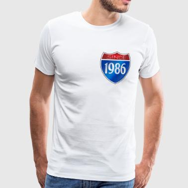 Since 1986 - Men's Premium T-Shirt