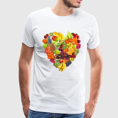 Isles of fruit lovers by Isles of Shirts - Men's Premium T-Shirt