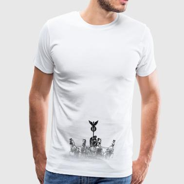 Around the World: Quadriga - Berlin - Men's Premium T-Shirt