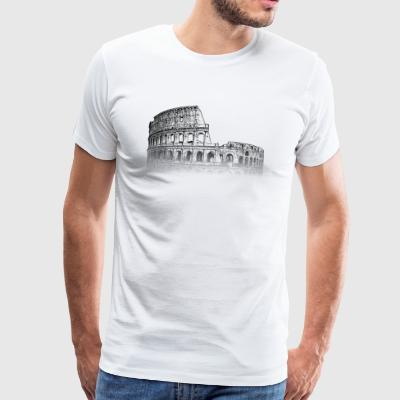 Around The World: Colisée - Rome - T-shirt Premium Homme