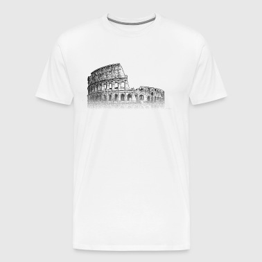 Around The World: Colosseum - Rome - Mannen Premium T-shirt