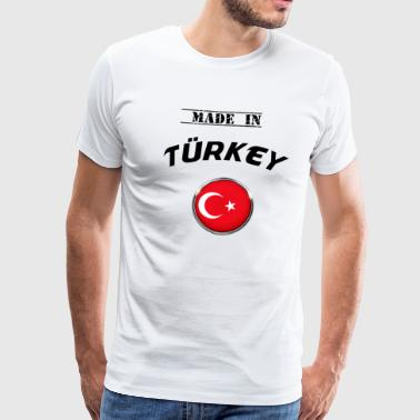 TURKEY TURKEY TURKEY MADE IN TURKEY T-SHIRT - Men's Premium T-Shirt