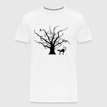 Creepy Tree - Men's Premium T-Shirt