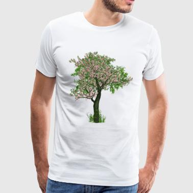 Cherry blossom tree - tree - flowering - Men's Premium T-Shirt