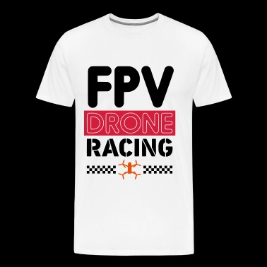 RACING FPV DRONE - SIMPLE - T-shirt Premium Homme