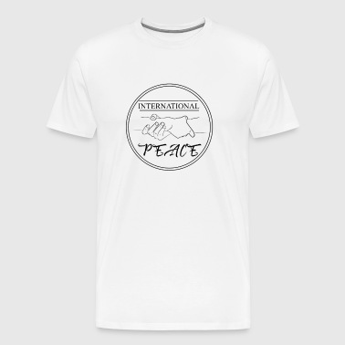 Paix internationale - T-shirt Premium Homme