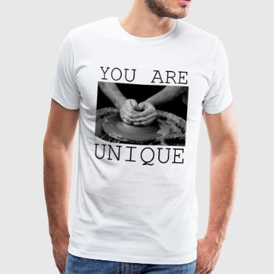 You are unique! - Men's Premium T-Shirt