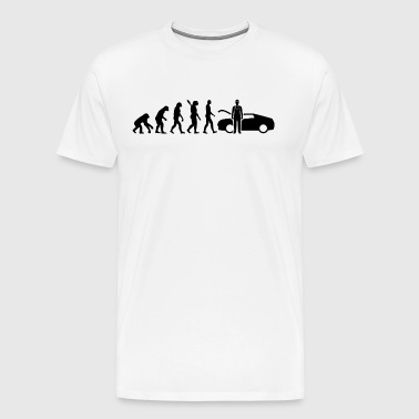 Evolution Mechanic Mechanic Black - Men's Premium T-Shirt