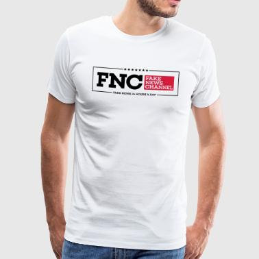 FNC Fake News Channel - Men's Premium T-Shirt