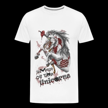 Revenge of the unicorns - Men's Premium T-Shirt