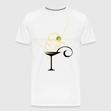 Martini - Art - Herre premium T-shirt