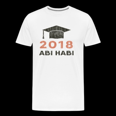 High School - Abi habi - Herre premium T-shirt
