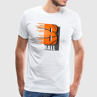 B ball - Men's Premium T-Shirt