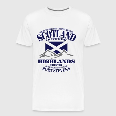 Scotland - Highlands - Mannen Premium T-shirt