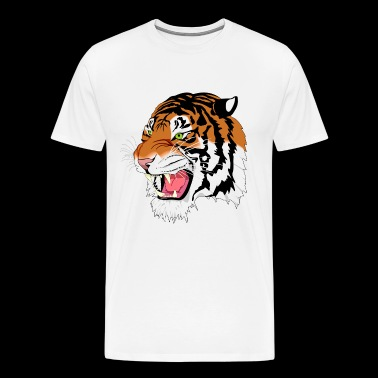 Kuma the Bengal Tiger - Men's Premium T-Shirt