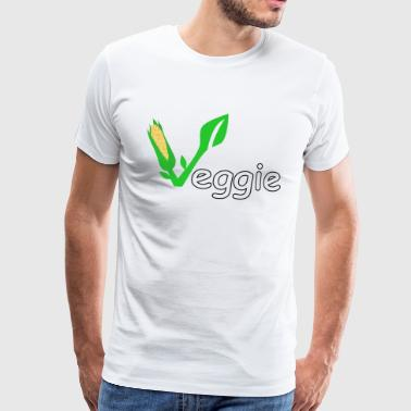 Veggie vegan vegetarian gift gift idea - Men's Premium T-Shirt