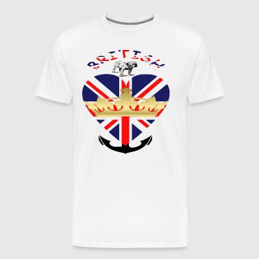 British - Men's Premium T-Shirt