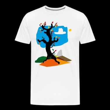 autumn idyll - Men's Premium T-Shirt