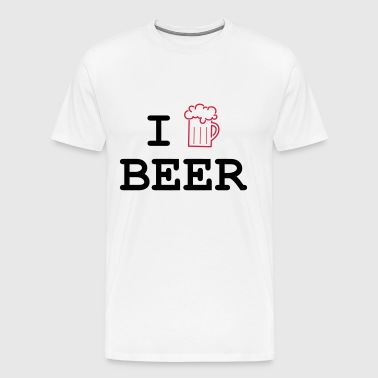 I Love Beer - T-shirt Premium Homme