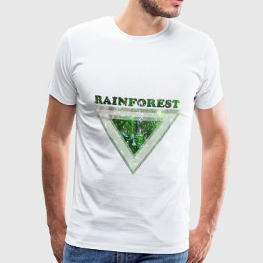 Rainforest - Herre premium T-shirt