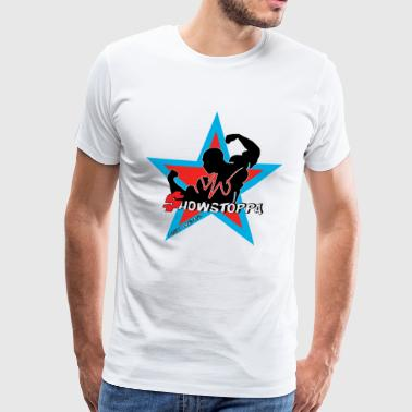 MIGI WEAR: showstoppa_blauw - Men's Premium T-Shirt