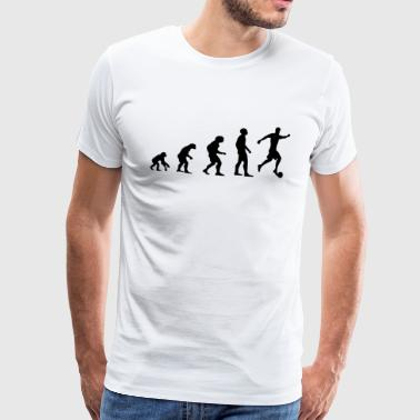 Evolution Football black - Men's Premium T-Shirt
