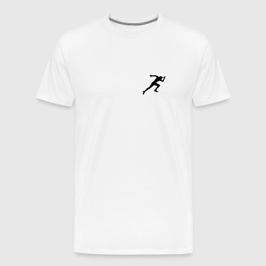RUN! - Mannen Premium T-shirt