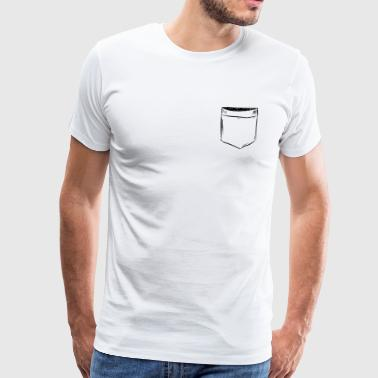 Chest bag Comic Draw - Men's Premium T-Shirt