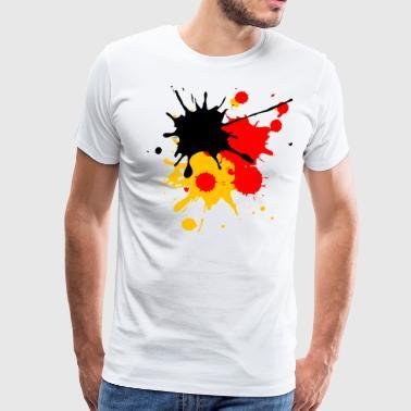 Suchbegriff: \'Fußball Fahne Farbspritzer\' T-Shirts online bestellen ...