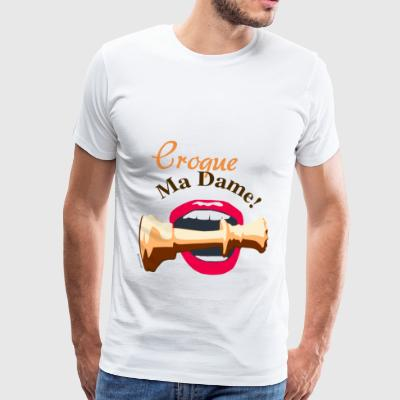 Croque My Lady - Mannen Premium T-shirt