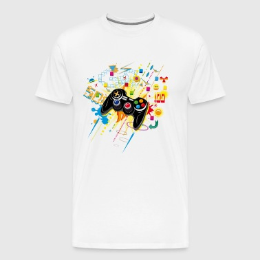 Gamepad Video Games - Men's Premium T-Shirt