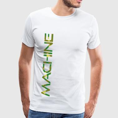 MACHINE - Mannen Premium T-shirt