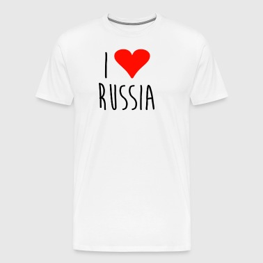 Love i love russia - Men's Premium T-Shirt